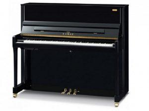 kawai piano k300 silent kawai atx3 aures zwart hoogglans messing stock
