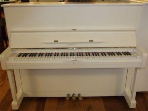 yamaha piano u1h silent genio premium wit hoogglans messing open