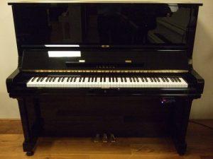yamaha piano u3m silent genio premium zwart hoogglans messing open