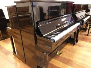 yamaha silent piano u2b zwart messing open